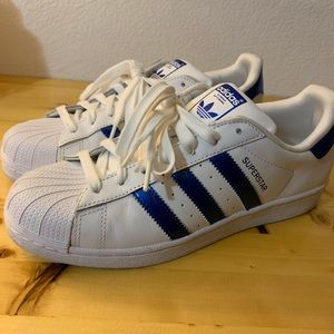 Adidas Superstar Shoes- very lightly worn